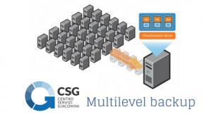 Multilevel Backup sicurezza informatica Udine Centro Servizi Giacomini