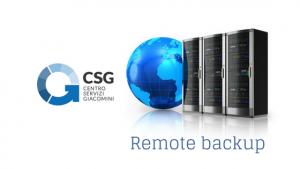 Remote Backup sicurezza informatica Udine Centro Servizi Giacomini