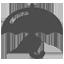 Icona ombrello, sicurezza informatica, protezione, antivirus, firewall