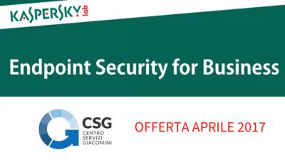 Promozione Kaspersky aprile 2017, sicurezza, antivirus, kaspersky